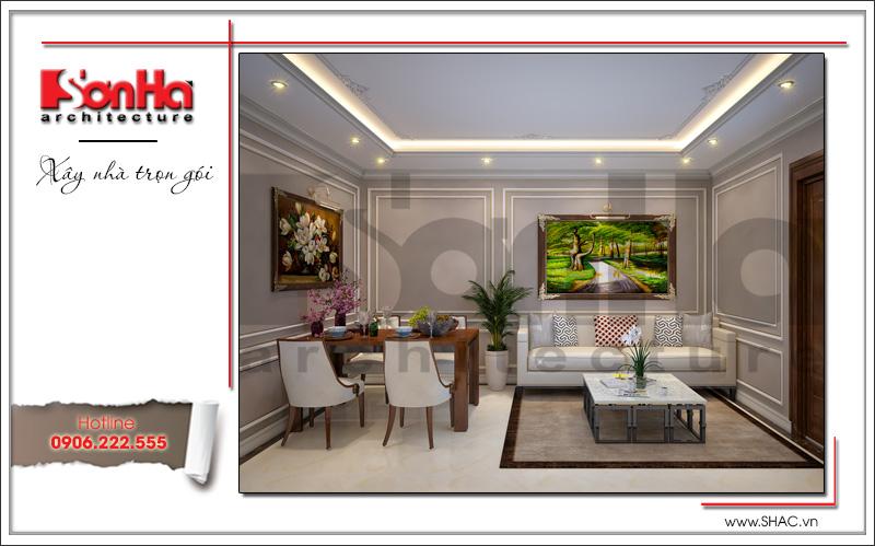 Thiết kế kiến trúc và nội thất căn hộ cho thuê tại Sài Gòn - SH VP 0033 6