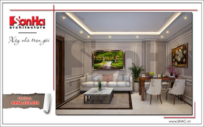 Thiết kế kiến trúc và nội thất căn hộ cho thuê tại Sài Gòn - SH VP 0033 10