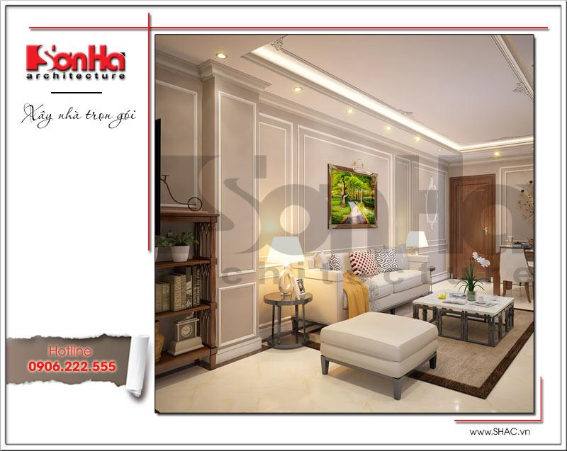 Thiết kế kiến trúc và nội thất căn hộ cho thuê tại Sài Gòn - SH VP 0033 2