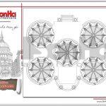 12 Bản vẽ mặt bằng công năng mái biệt thự lâu đài cổ tại đà nẵng sh btld 0031