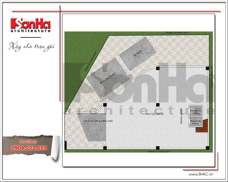 Bản vẽ thiết kế khách sạn 3 sao kiến trúc cổ điển tại Vũng Tàu – SH KS 0048 2