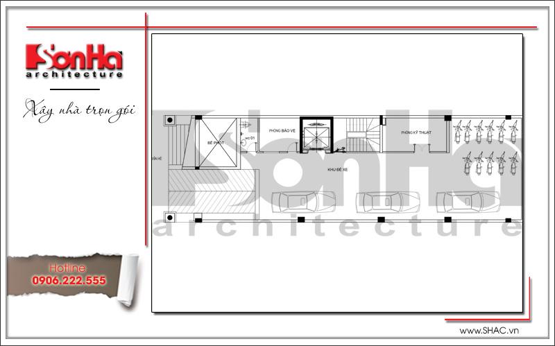 Thiết kế kiến trúc và nội thất căn hộ cho thuê tại Sài Gòn - SH VP 0033 12