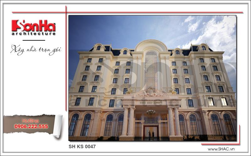 Thiết kế khách sạn 4 sao kiến trúc cổ điển tại Phú Quốc (Kiên Giang) – SH KS 0047 2