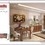 2.Mẫu nội thất phòng bếp ăn tòa nhà căn hộ cho thuê tại sài gòn SH VP 0033