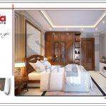 2.Mẫu nội thất phòng ngủ tòa nhà căn hộ cho thuê SH VP 0033