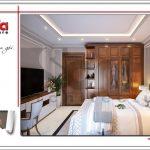 2.Mẫu nội thất phòng ngủ tòa nhà căn hộ cho thuê tại sài gòn SH VP 0033