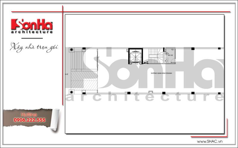 Thiết kế kiến trúc và nội thất căn hộ cho thuê tại Sài Gòn - SH VP 0033 13