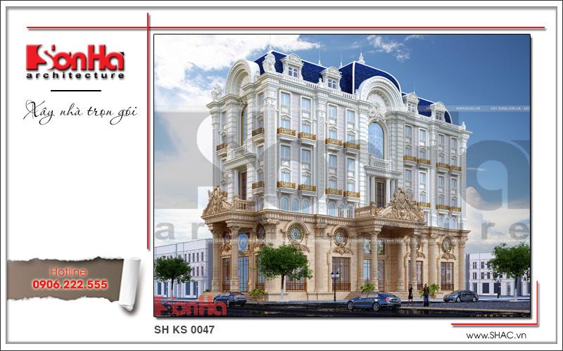 Thiết kế khách sạn 4 sao kiến trúc cổ điển tại Phú Quốc (Kiên Giang) – SH KS 0047 3
