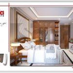 3.Thiết kế nội thất phòng ngủ tòa nhà căn hộ cho thuê tại sài gòn SH VP 0033