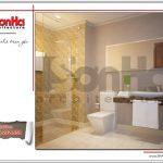 3.Thiết kế nội thất phòng tắm wc tòa nhà căn hộ cho thuê tại sài gòn SH VP 0033