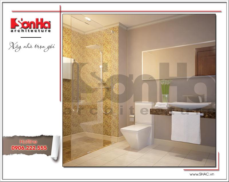 Thiết kế kiến trúc và nội thất căn hộ cho thuê tại Sài Gòn - SH VP 0033 8