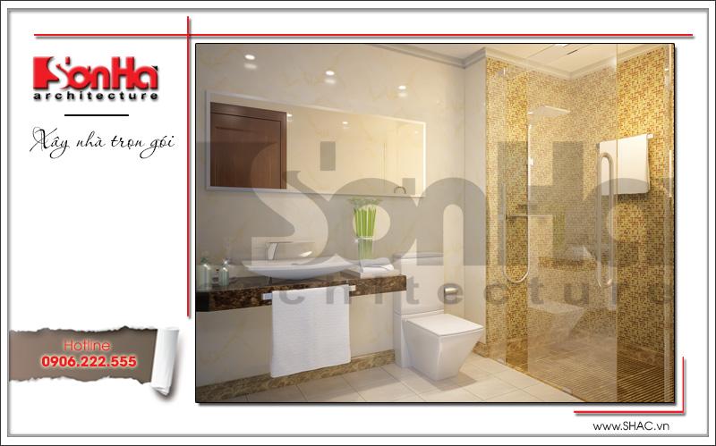 Thiết kế kiến trúc và nội thất căn hộ cho thuê tại Sài Gòn - SH VP 0033 5
