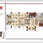 5 Mặt bằng công năng tầng trệt khách sạn 4 sao tại phú quốc sh ks 0047