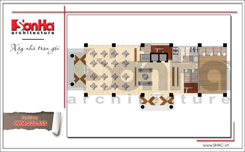 Thiết kế khách sạn 4 sao kiến trúc cổ điển tại Phú Quốc (Kiên Giang) – SH KS 0047 5
