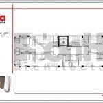 6.Mặt bằng công năng tầng 3 tòa nhà căn hộ cho thuê tại sài gòn SH VP 0033