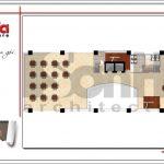 6 Mặt bằng công năng tầng lửng khách sạn 4 sao tại phú quốc sh ks 0047