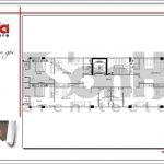 7.Mặt bằng công năng tầng 4 5 tòa nhà căn hộ cho thuê tại sài gòn SH VP 0033