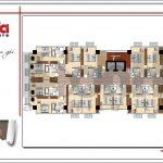 8 Mặt bằng công năng tầng 2 3 4 5 khách sạn 4 sao tại phú quốc sh ks 0047