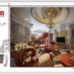 9 Thiết kế nội thất phòng sinh hoạt chung biệt thự lâu đài đẹp tại đà nẵng sh btld 0031