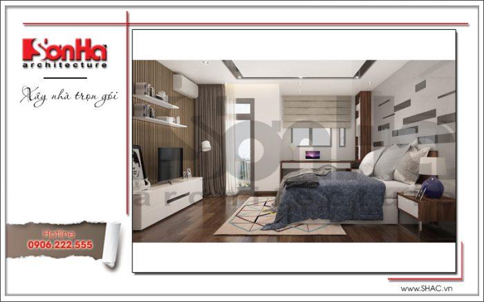 Các màu sơn phòng ngủ đẹp theo phong thủy cho nội thất hiện đại biệt thự nhà phố tiện nghi