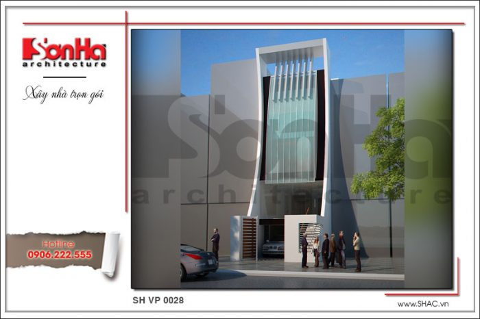 Mẫu thiết kế văn phòng hiện đại mang bản sắc thương hiệu SHAC tạo ấn tượng cả nước
