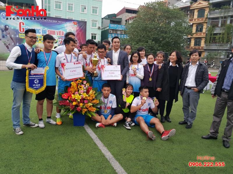 Sơn Hà Architecture hân hạnh đồng hành cùng Giải bóng đá sinh viên khoa Kiến trúc (Viện Đại học Mở) 14