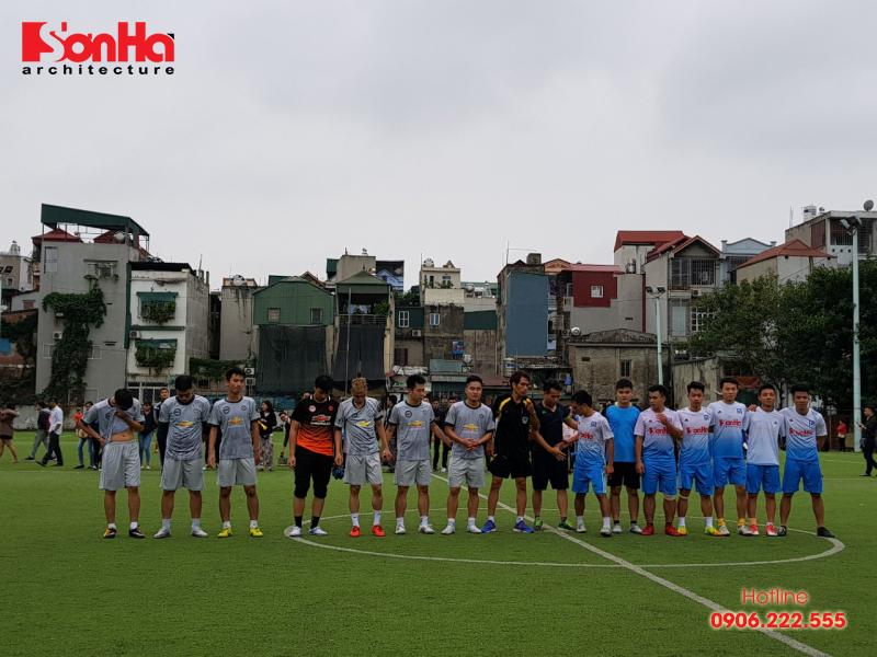 Sơn Hà Architecture hân hạnh đồng hành cùng Giải bóng đá sinh viên khoa Kiến trúc (Viện Đại học Mở) 6