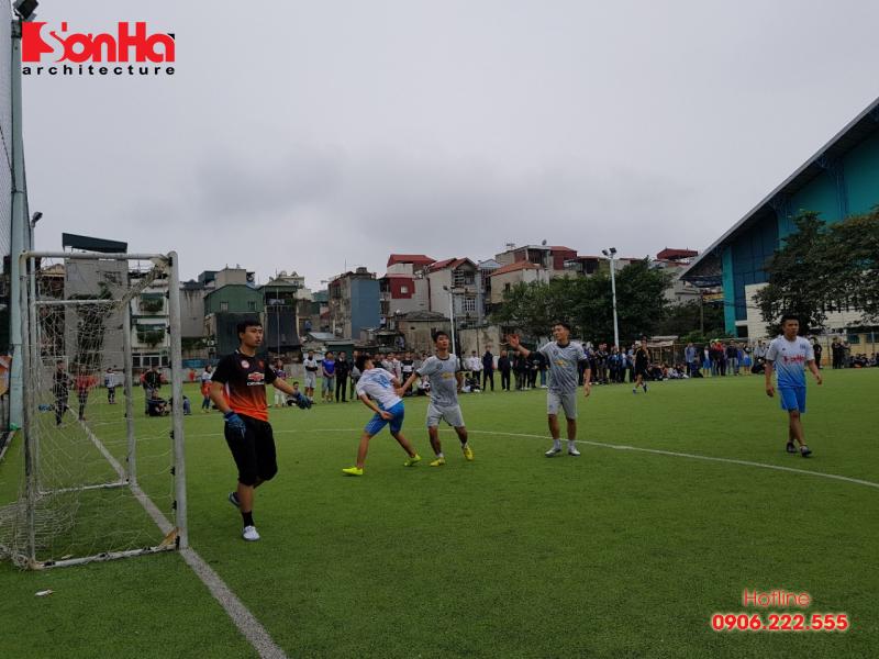 Sơn Hà Architecture hân hạnh đồng hành cùng Giải bóng đá sinh viên khoa Kiến trúc (Viện Đại học Mở) 9