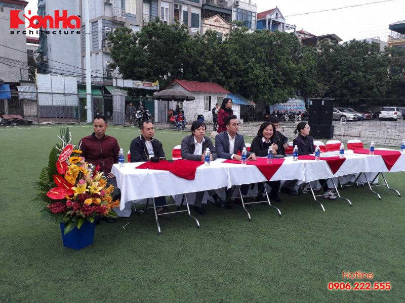 Sơn Hà Architecture hân hạnh đồng hành cùng Giải bóng đá sinh viên khoa Kiến trúc (Viện Đại học Mở) 5