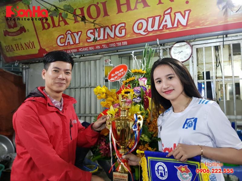Sơn Hà Architecture hân hạnh đồng hành cùng Giải bóng đá sinh viên khoa Kiến trúc (Viện Đại học Mở) 4