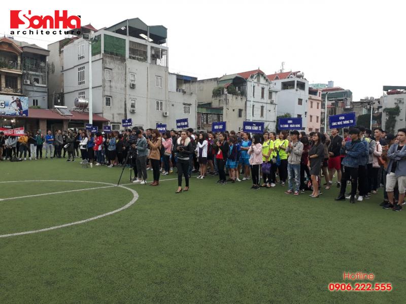 Sơn Hà Architecture hân hạnh đồng hành cùng Giải bóng đá sinh viên khoa Kiến trúc (Viện Đại học Mở) 12