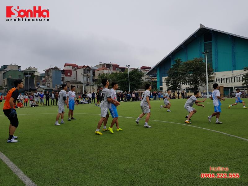 Sơn Hà Architecture hân hạnh đồng hành cùng Giải bóng đá sinh viên khoa Kiến trúc (Viện Đại học Mở) 8