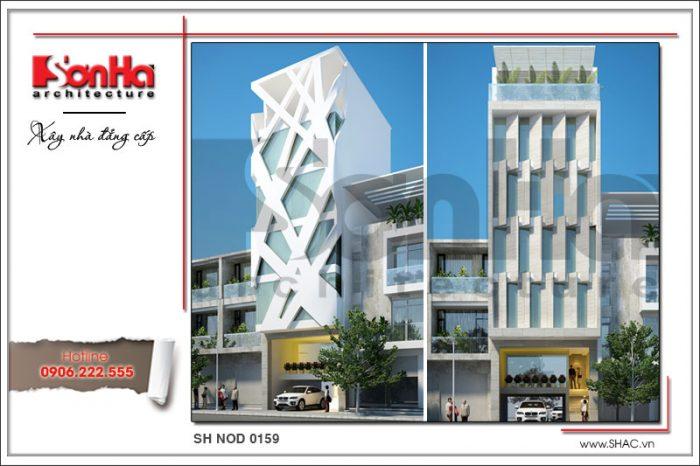 Ví dụ điển hình của mẫu thiết kế tòa nhà văn phòng hiện đại được yêu thích và đánh giá cao