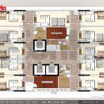 10 Mặt bằng công năng tầng 3 6 khách sạn 3 sao đẹp tại hải phòng sh ks 0049