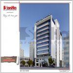 2 Mẫu kiến trúc phương án 1 khách sạn đẹp tại hải phòng sh ks 0049