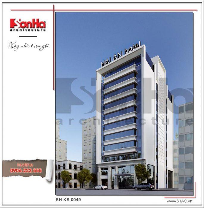 Khách sạn hiện đại tiêu chuẩn 3 sao tại Hải Phòng - SH KS 0049