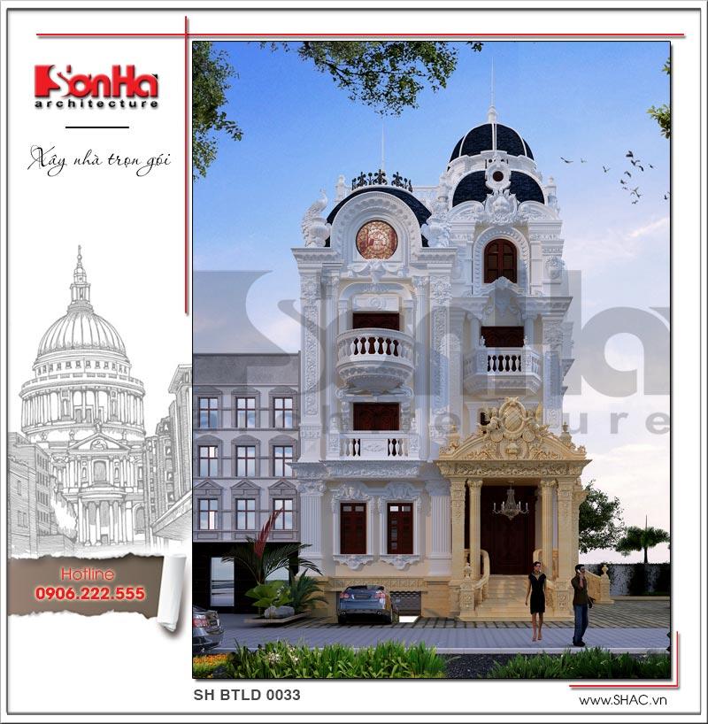 Tròn mắt với biệt thự lâu đài cổ điển xa hoa 4 tầng tại Sài Gòn – SH BTLD 0033 4