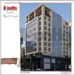 5 Mẫu phương án 2 kiến trúc khách sạn đẹp tại hải phòng sh ks 0049