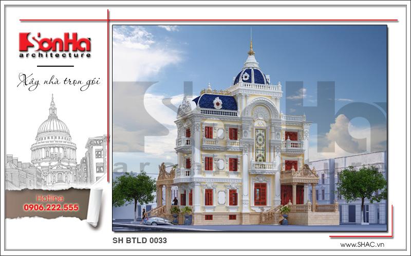 Tròn mắt với biệt thự lâu đài cổ điển xa hoa 4 tầng tại Sài Gòn – SH BTLD 0033 6