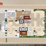 7 Mặt bằng công năng tầng 7 khách sạn 3 sao đẹp tại hải phòng sh ks 0049