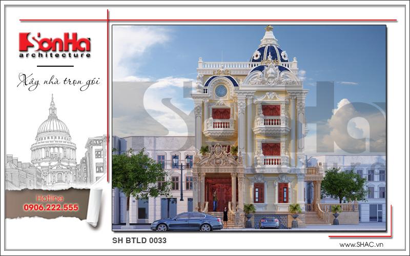 Tròn mắt với biệt thự lâu đài cổ điển xa hoa 4 tầng tại Sài Gòn – SH BTLD 0033 7
