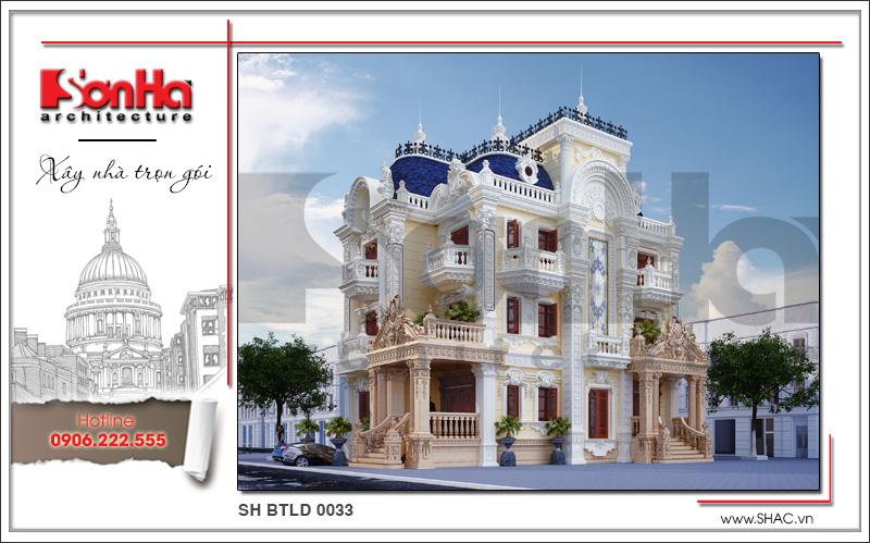 Tròn mắt với biệt thự lâu đài cổ điển xa hoa 4 tầng tại Sài Gòn – SH BTLD 0033 9