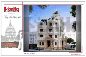 BÌA kiến trúc biệt thự lâu đài cổ điển tại sài gòn sh btld 0033