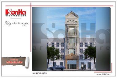 BÌA mẫu kiến trúc nhà ống pháp cổ điển tại sài gòn sh nop 0155