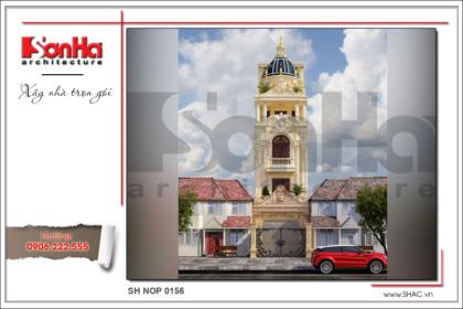 BÌA thiết kế kiến trúc nhà phố cổ điển tại hải phòng sh nop 0156