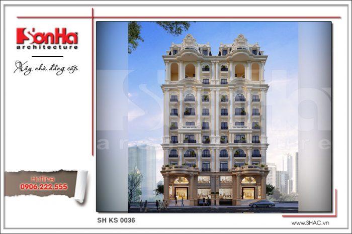 CĐT hoàn toàn bị chinh phục bởi phương án thiết kế khách sạn 4 sao đẹp tại Bắc Ninh