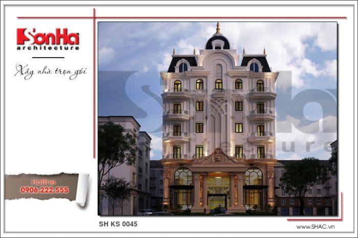 Kiến trúc sang trọng mãn nhãn của mẫu thiết kế khách sạn tiêu chuẩn 3 sao tại Bến Tre