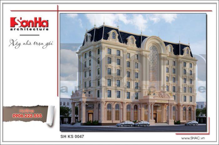 Mãn nhãn với phương án thiết kế của khách sạn 4 sao phong cách cổ điển tại Phú Quốc