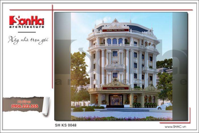 Mẫu khách sạn đẹp 3 sao tại Vũng Tàu điển hình xu hướng thiết kế khách sạn mới nhất 2018