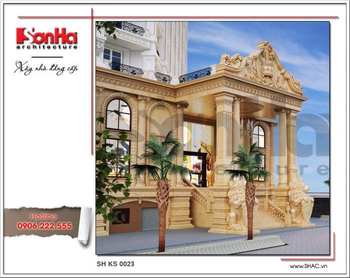 Mẫu thiết kế khách sạn 5 sao tại Phú Quốc thể hiện tài năng KTS và tầm nhìn của CĐT